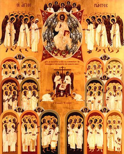 icono de todos los santos
